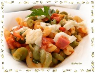 Pâtes fraiches à la rosette de Lyon et Mozzarella di Bufala Dscn2024