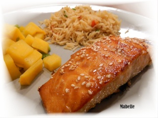 Filets de saumon dorés au sésame Filet_11