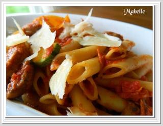 Penne aux saucisses italiennes Pates_19