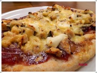 Pizza au dindon et au Gouda fumé Pizza_14