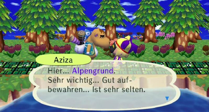 Ich habe von Aziza einen/eine ... erhalten. Aziza110