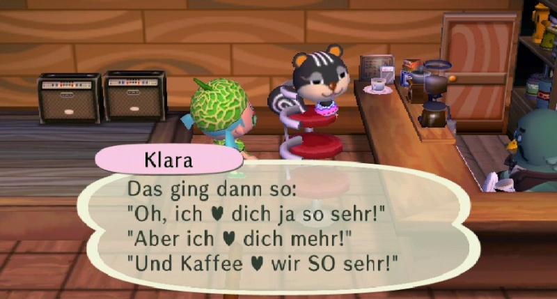 Besucher im Café Klarak10