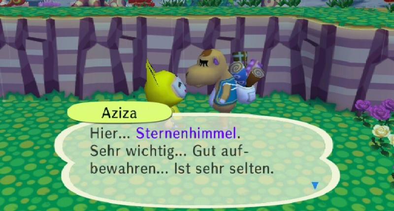 Ich habe von Aziza einen/eine ... erhalten. Sterne10