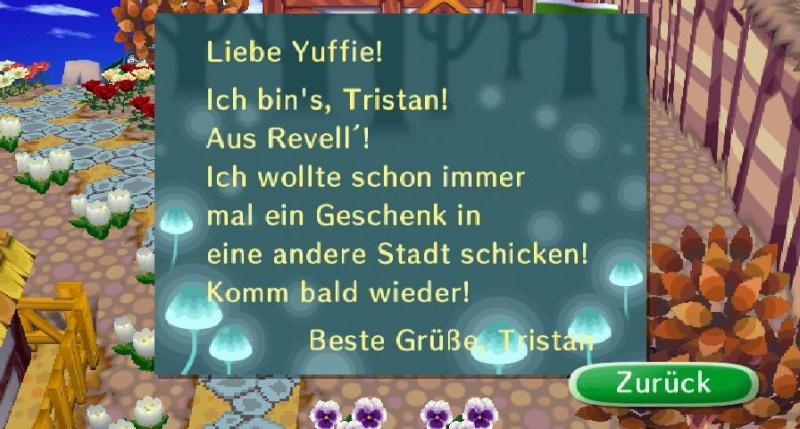 Briefe von den Tieren eurer Freunde Trista10