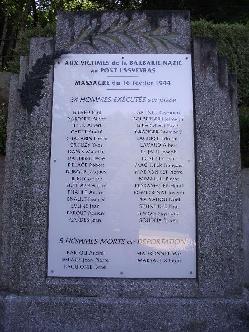 Le monument au Pont-Lasveyras 11110