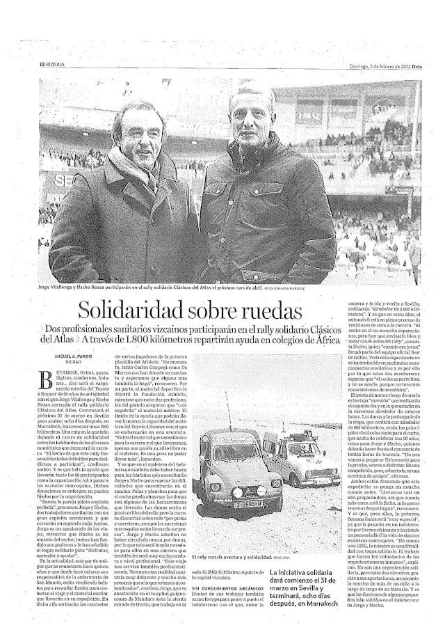 Salimos en la prensa!! Prensa10