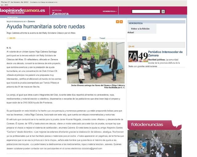 Salimos en la prensa!! Prensa11