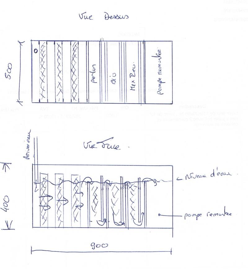 filtration pour mon bac de décantation Ccf05011