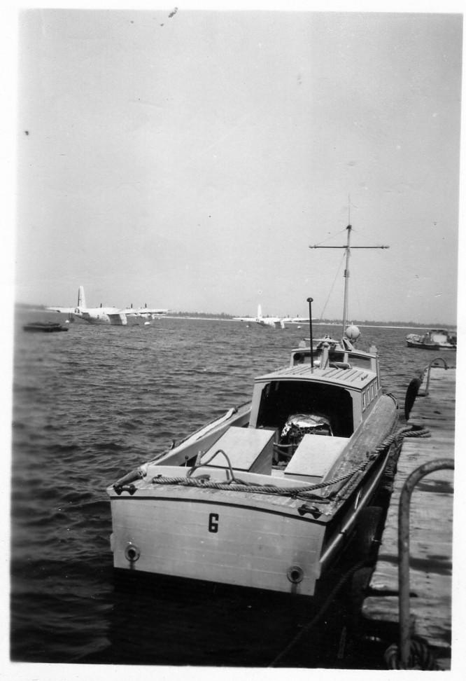 """[Les anciens avions de l'aéro] Hydravion SHORT """"SUNDERLAND"""" Dakar011"""
