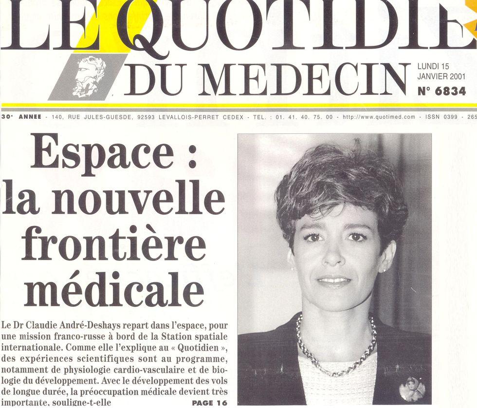 Claudie Haigneré - 1ère Française dans l'espace - Page 2 01011510