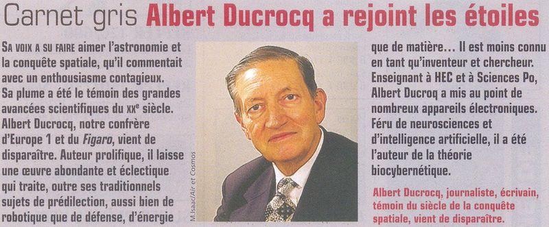 Albert Ducrocq 01120013