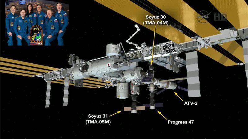 Expedition 32 - Soyouz TMA-05M - Juillet 2012 12071710