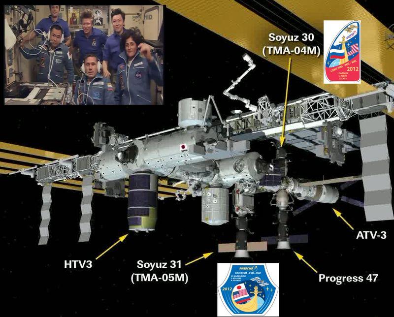 Expedition 32 - Soyouz TMA-05M - Juillet 2012 12072910