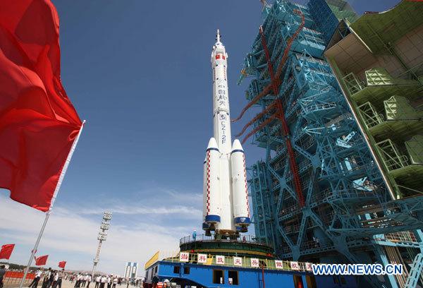 16 juin 2012 - Shenzhou 9 : nouveau vol Chinois habité 13164110