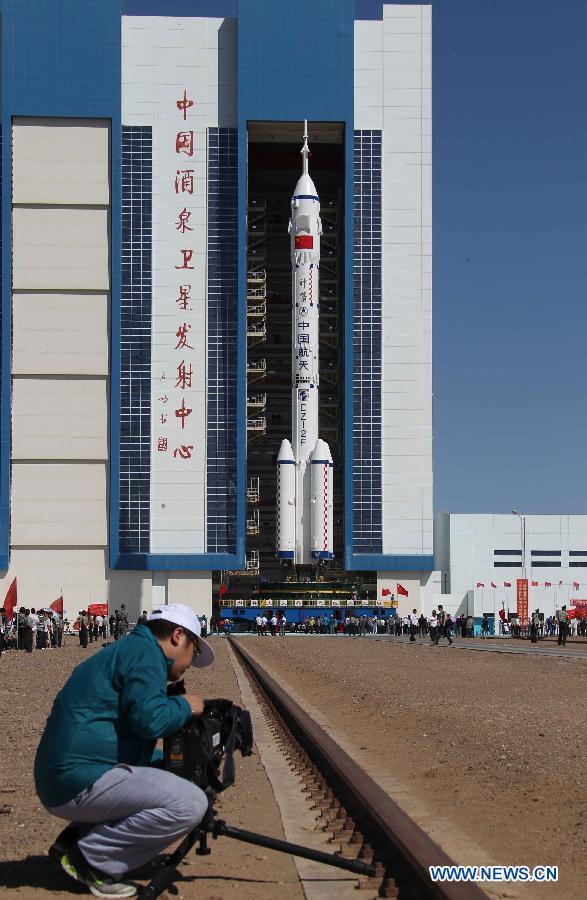 16 juin 2012 - Shenzhou 9 : nouveau vol Chinois habité 13164111