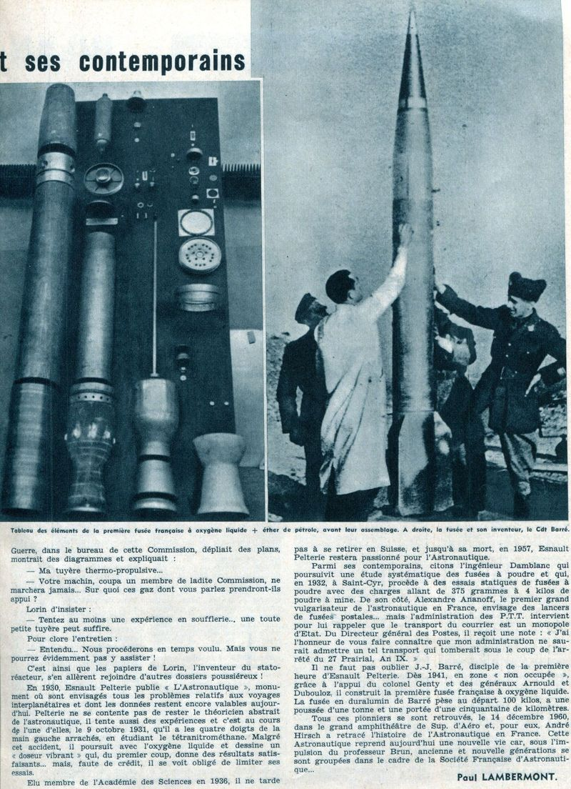 Esnault-Pelterie inventeur de l'aerocapture 61011511