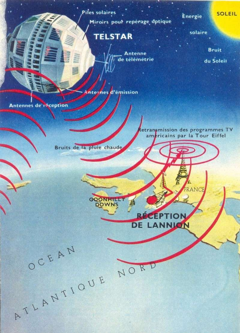 10 juillet 1962 - lancement de Telstar 1 par Delta 62090015