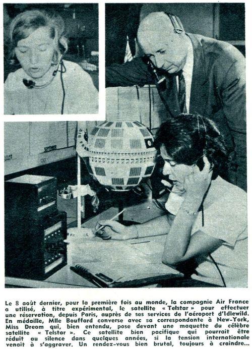 10 juillet 1962 - lancement de Telstar 1 par Delta 62090110