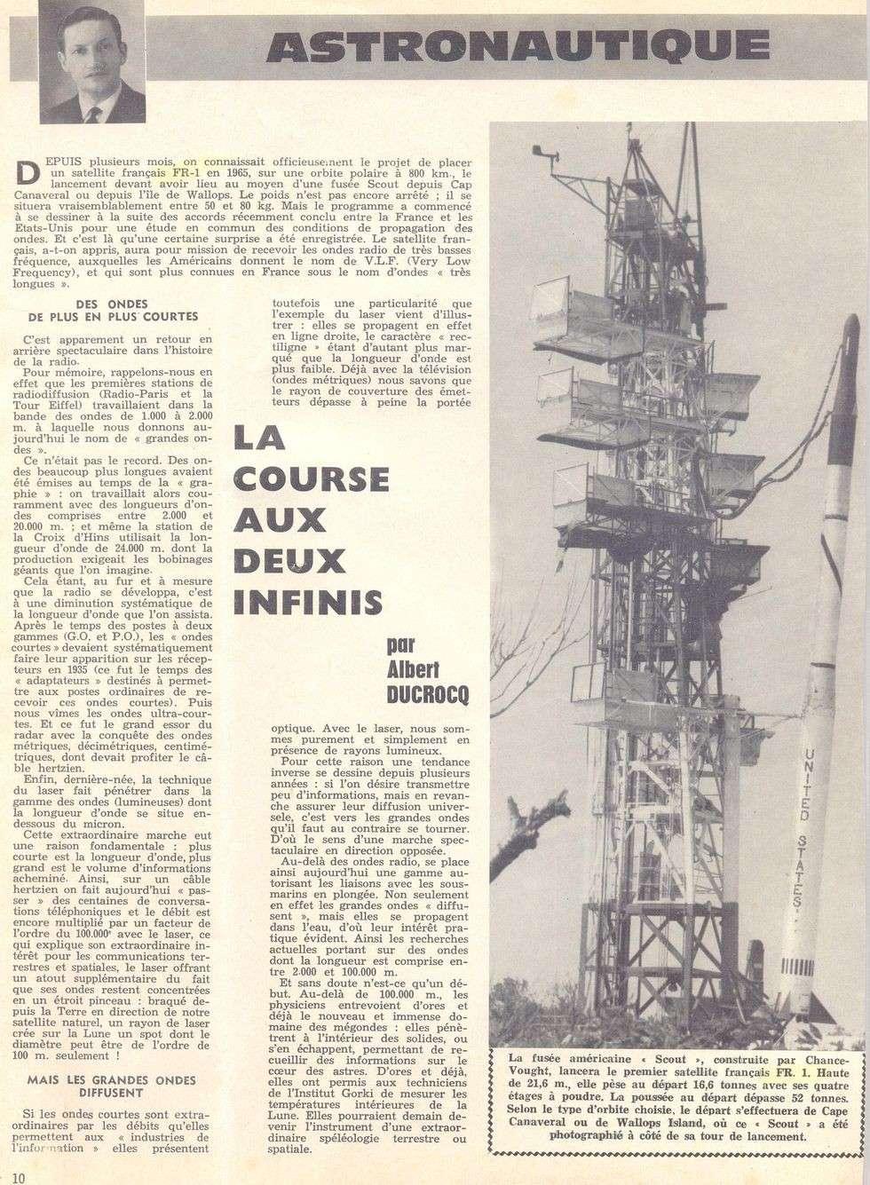 25-03-63 - Air et Cosmos n°1 - Article d'Albert Ducroq 63032510