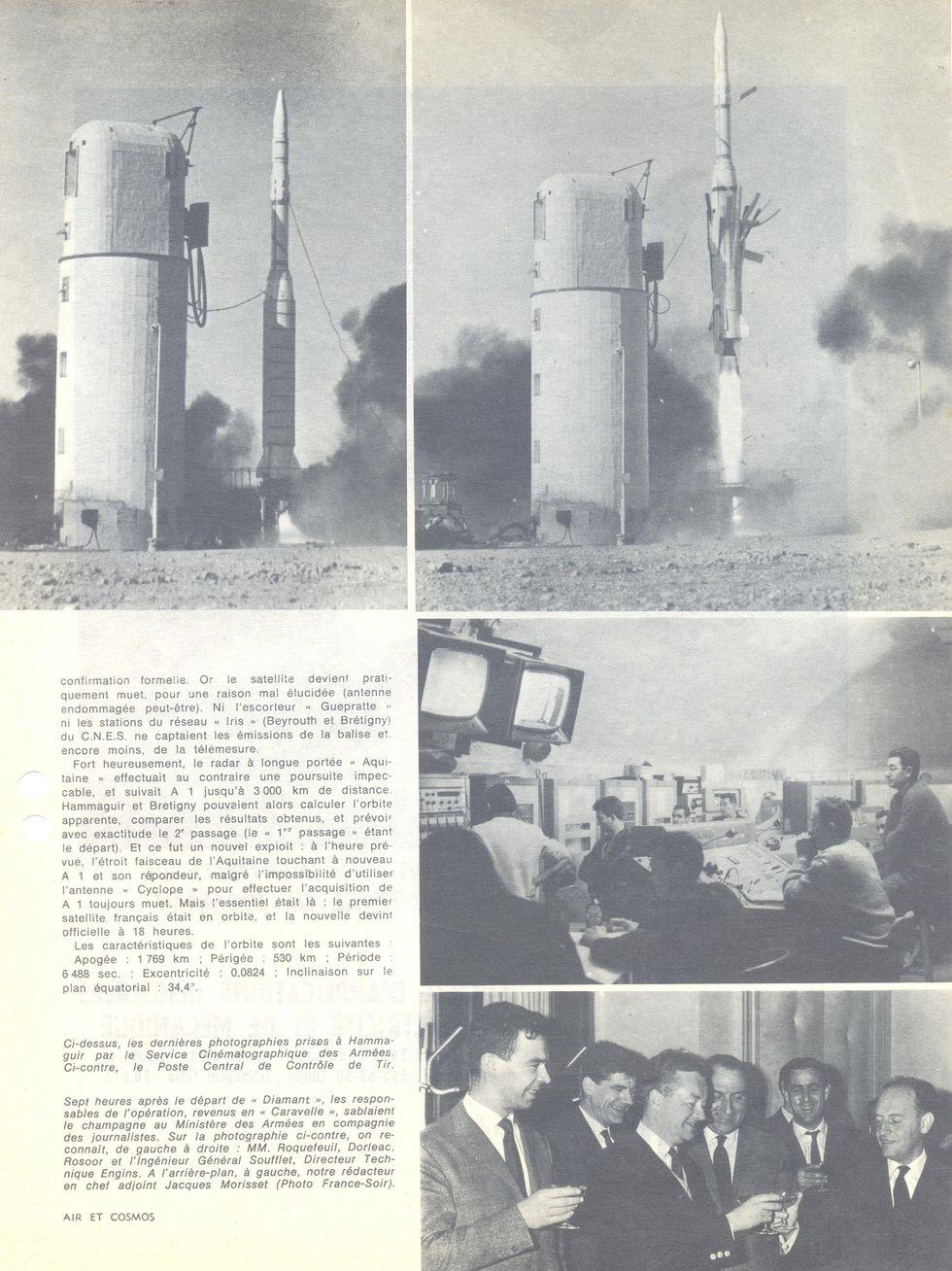 26 novembre 1965 - La France 3ème puissance spatiale 65120411
