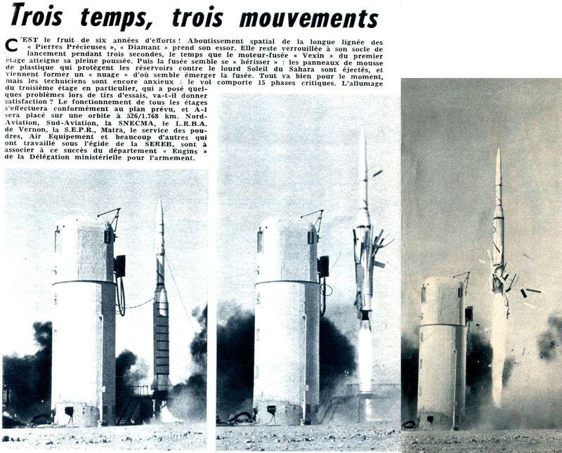 26 novembre 1965 - La France 3ème puissance spatiale 65121510