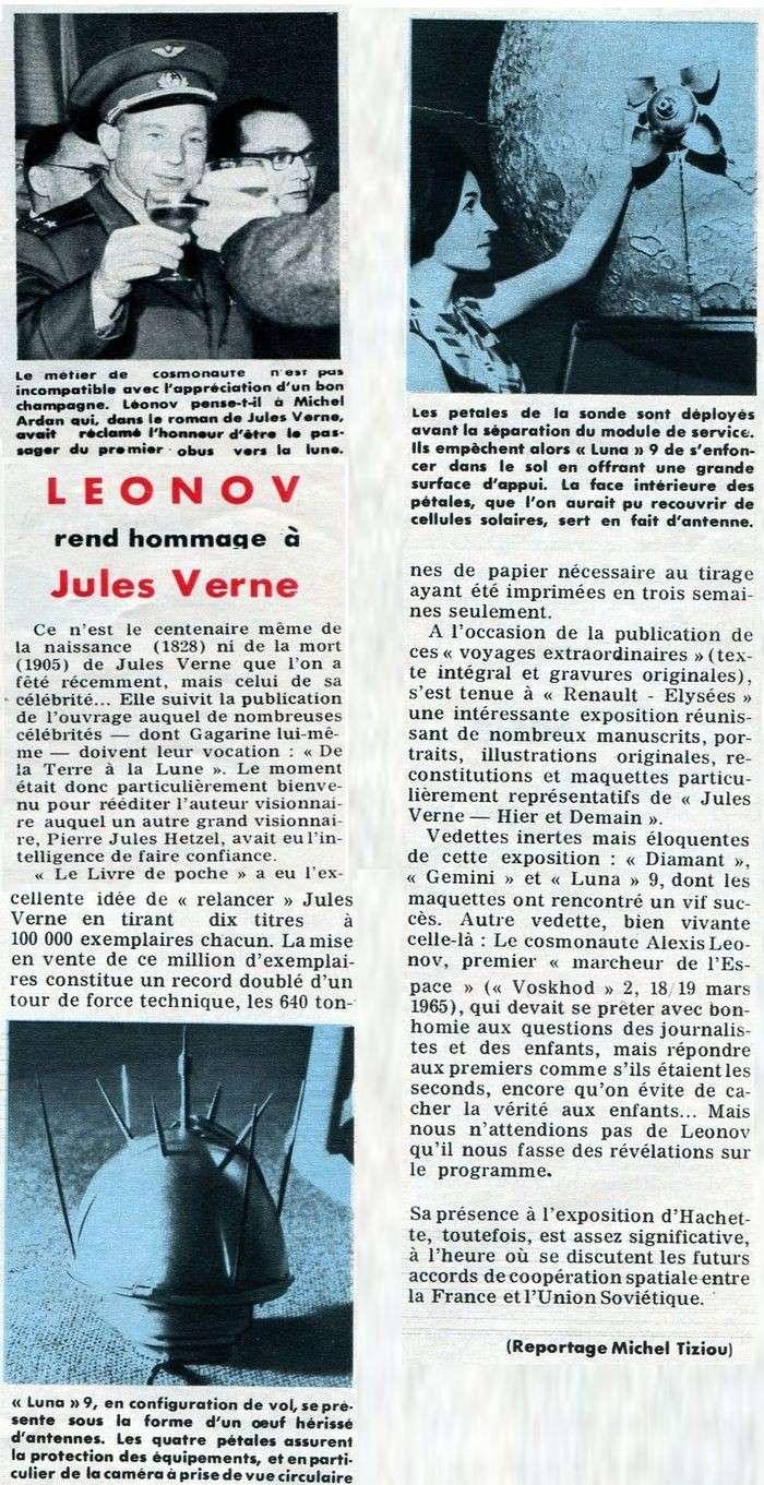 Leonov, le piéton de l'espace 66050110