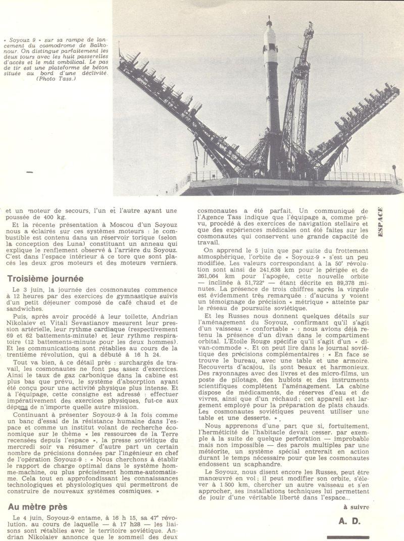 1er juin 1970 - Soyouz 9 70061312