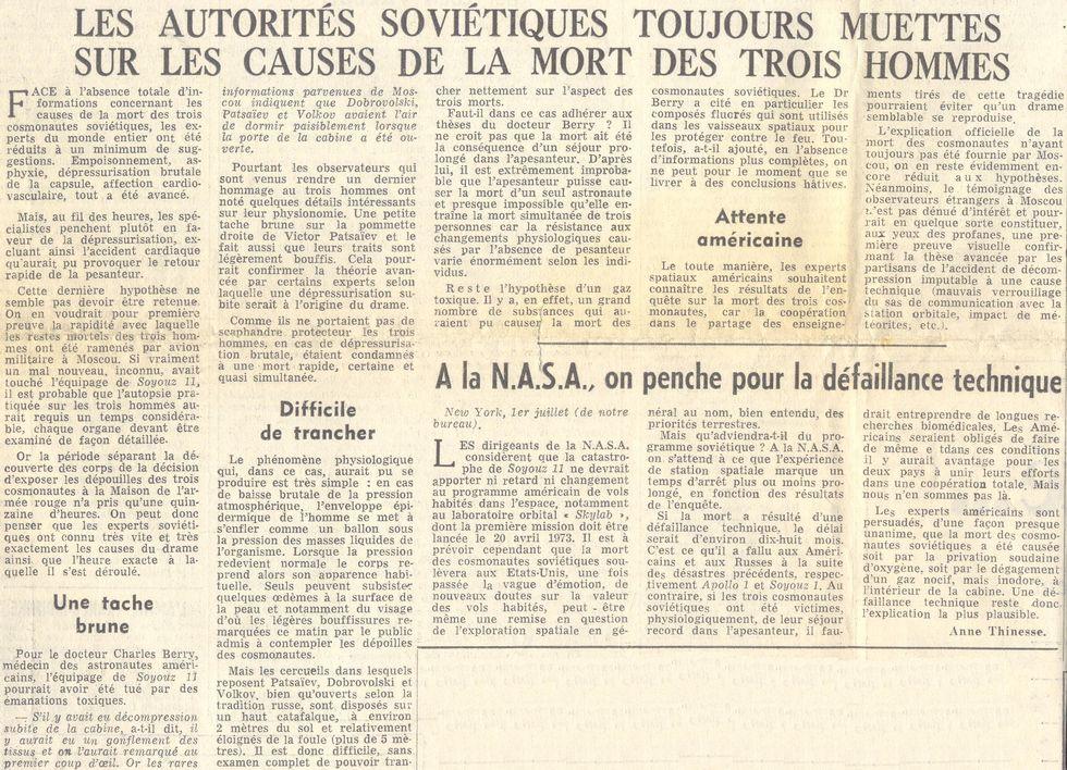 Incidents et accidents astronautiques - Page 2 71070210