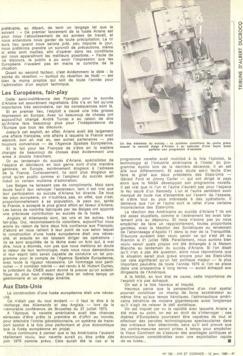 24 décembre 1979 - Début de l'ère d'Ariane 80011211