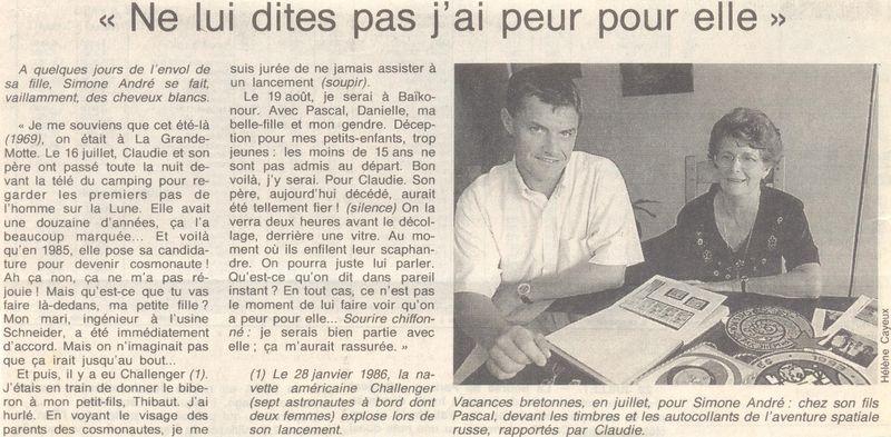 Claudie Haigneré - 1ère Française dans l'espace - Page 2 96073012