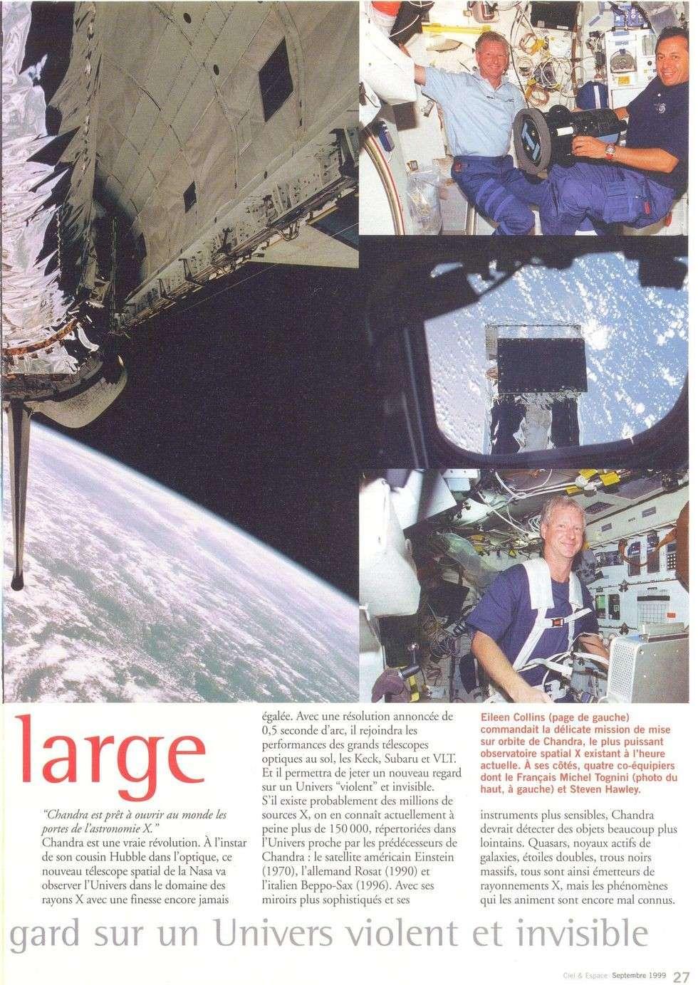 Michel Tognini - 3ème Français dans l'espace 99090011
