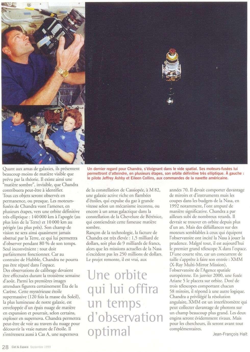 Michel Tognini - 3ème Français dans l'espace 99090012
