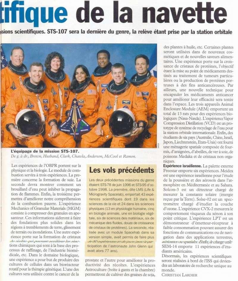 STS 107 - dernier vol de Columbia Ac_03-11