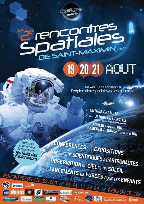 2è Rencontres Spatiales de St Maximin - 19 au 21 août 2011 Affich10
