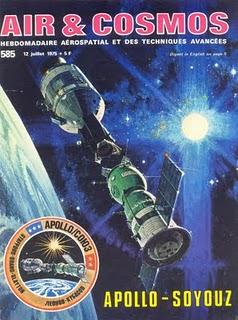 15 juillet 1975 - Mission Apollo - Soyouz Cosmos10