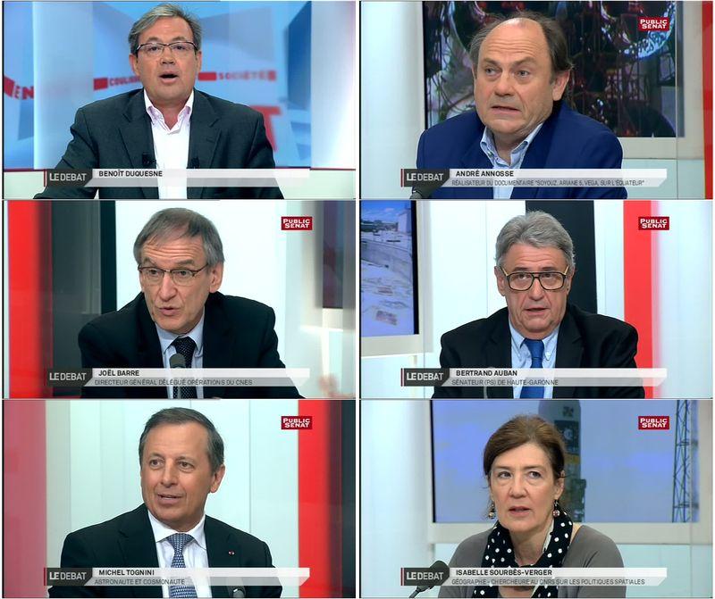 LCP-Sénat - Soyouz, Ariane 5, Vega sur l'équateur Debat_10