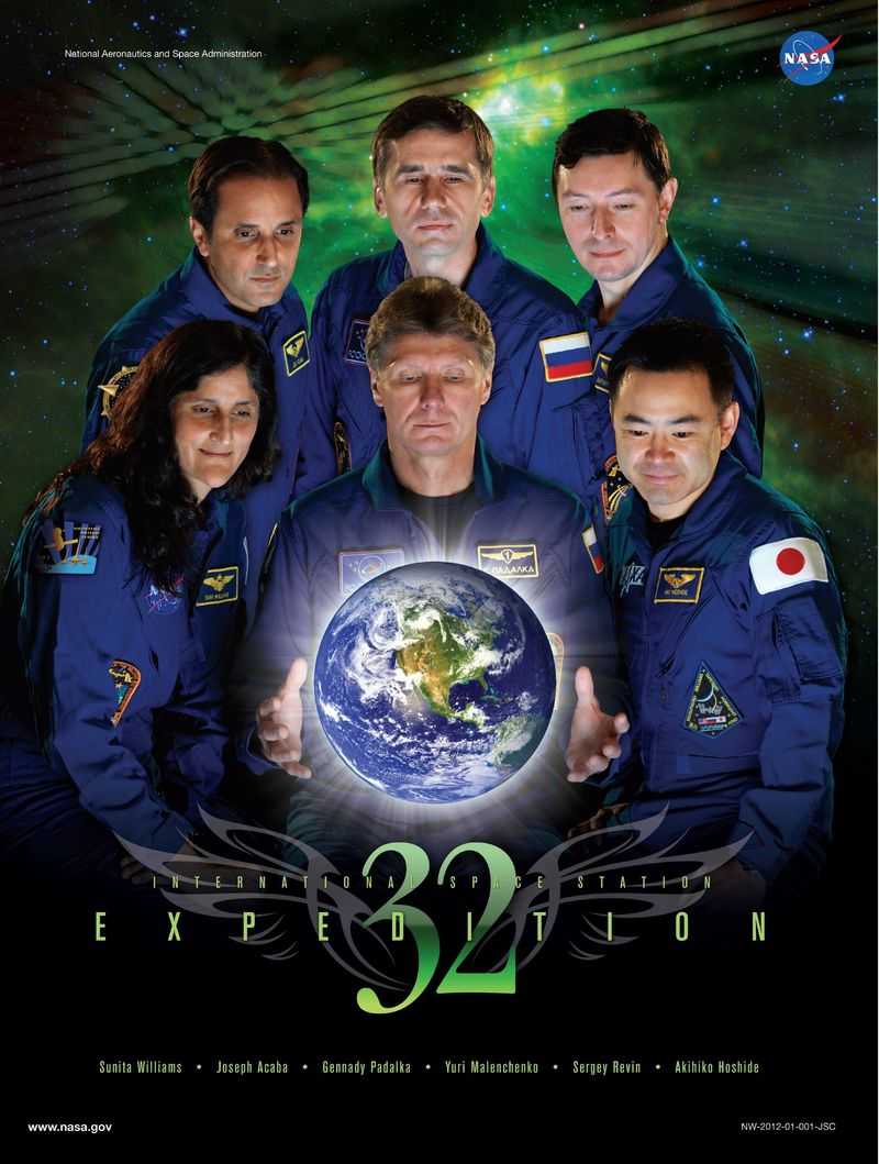 Expedition 32 - Soyouz TMA-05M - Juillet 2012 Expedi11