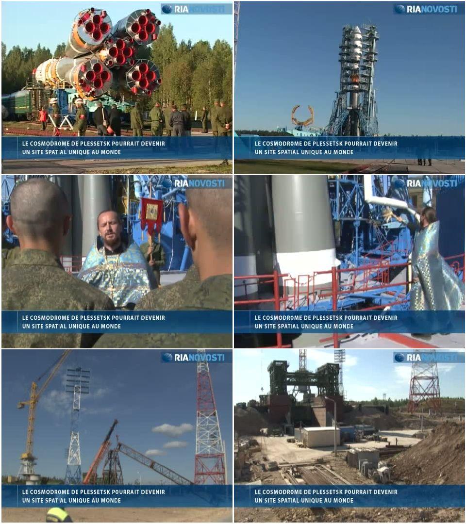 Cosmodrome russe de Plessetsk: visite d'un pas de tir unique Planch43