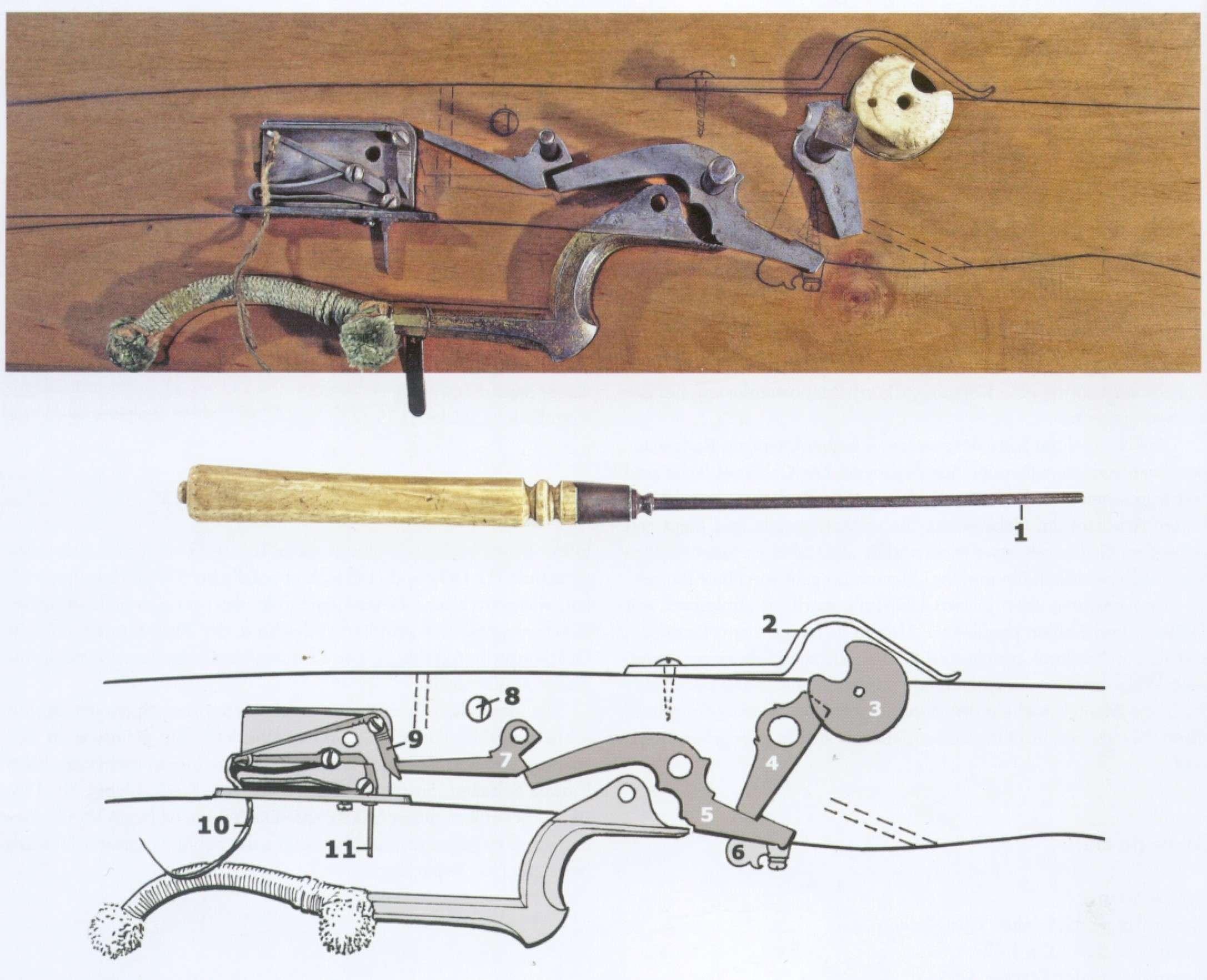 Medieval Tiller Plans (German Sporting bow) 036h10