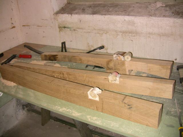 Nut bearing blocks Armbor10