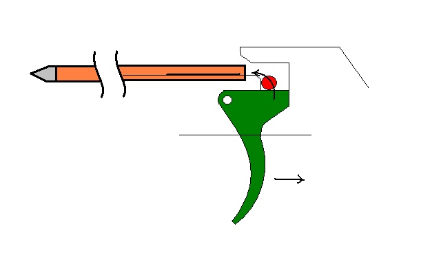 [Pistol Crossbow] Trigger design Cheap-11