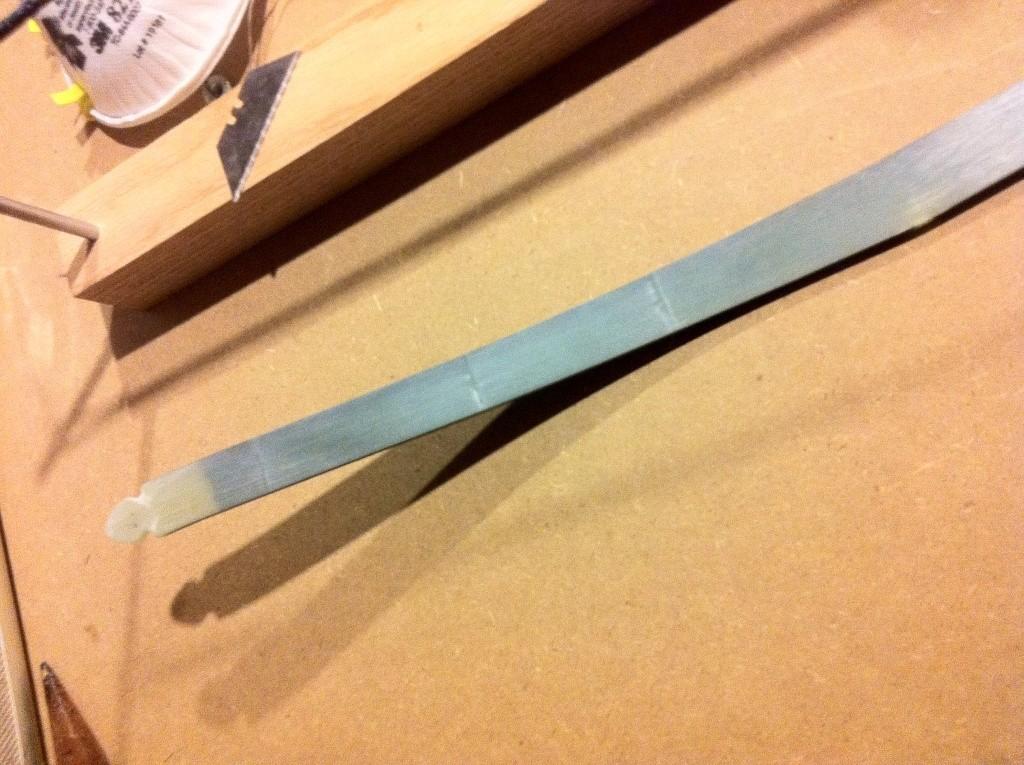Red Oak Board (x)Bow. Photo413