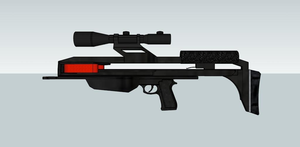 "Most compact ""lethal"" slingshot crossbow? Slingb13"