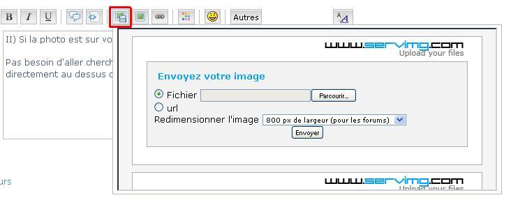 Tutoriel : Intégration de photos 111110