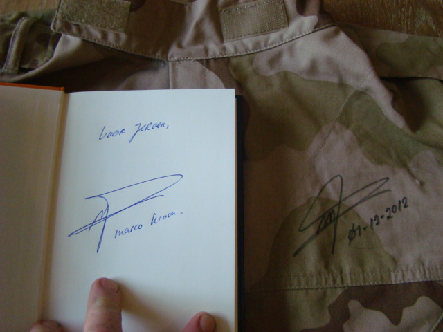 Knight marco kroon his new book and a signed jacket Marco_12
