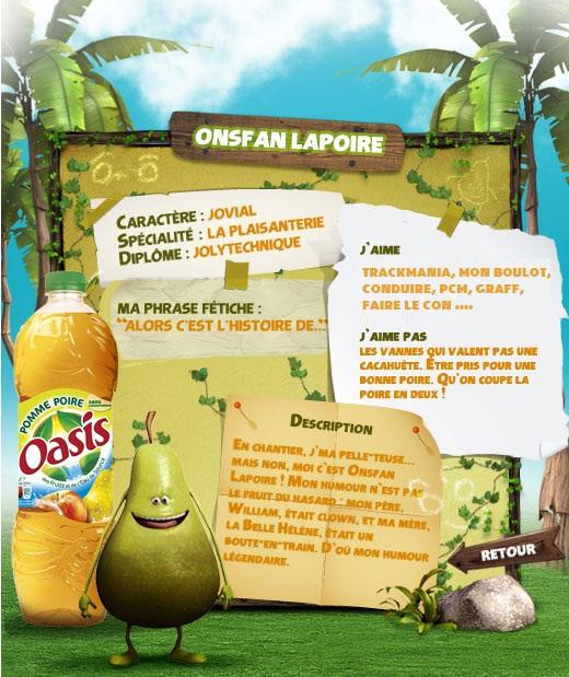 Onsfan La Poire. Fruitf12