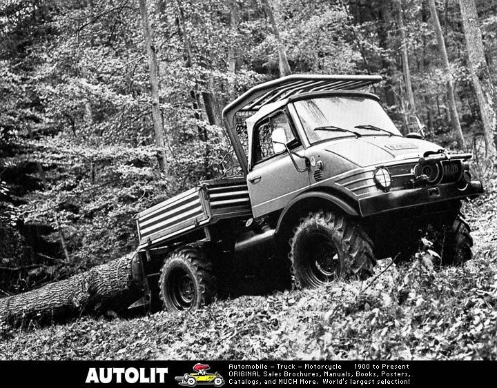 unimog mb-trac wf-trac pour utilisation forestière dans le monde - Page 19 J131910