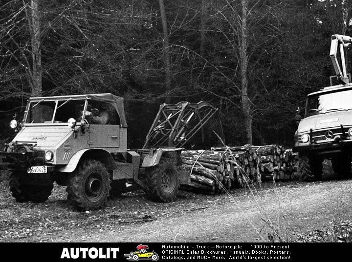 unimog mb-trac wf-trac pour utilisation forestière dans le monde - Page 19 J132110