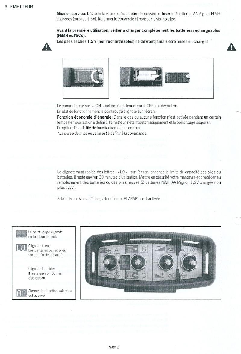RADIO COMMANDE PLANAR V4 FORESTIER Numari16