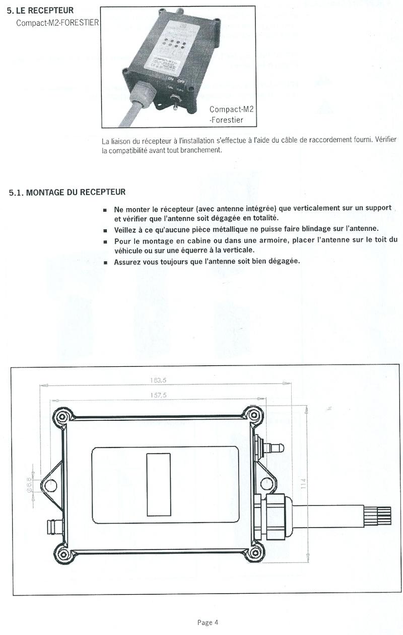 RADIO COMMANDE PLANAR V4 FORESTIER Numari18